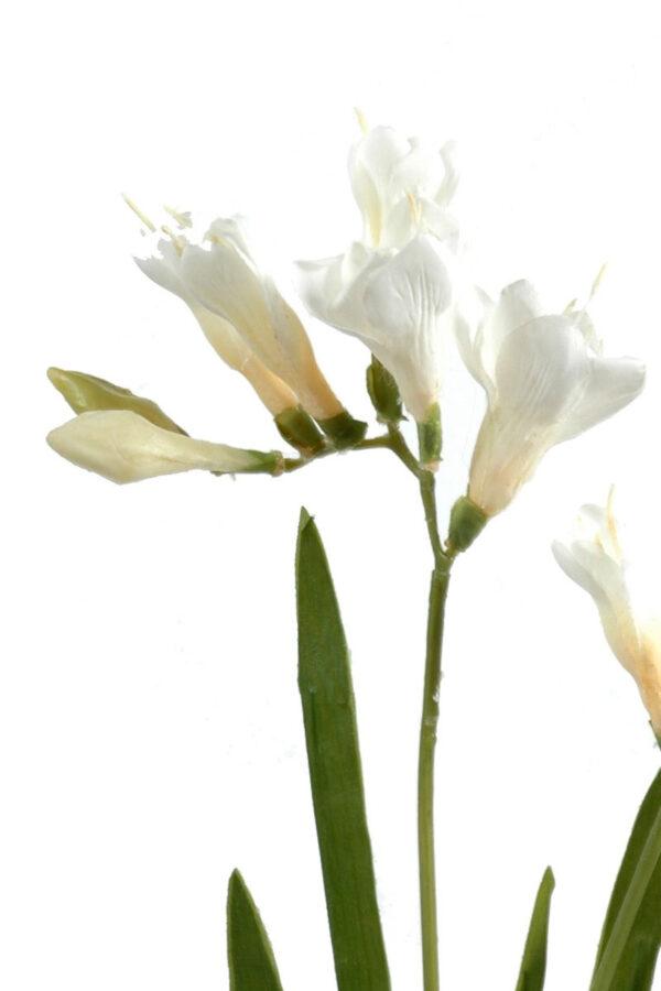 fleur artificielle fresia blanc 1 1