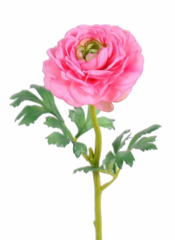 fleur artificielle renoncule rose 1 1