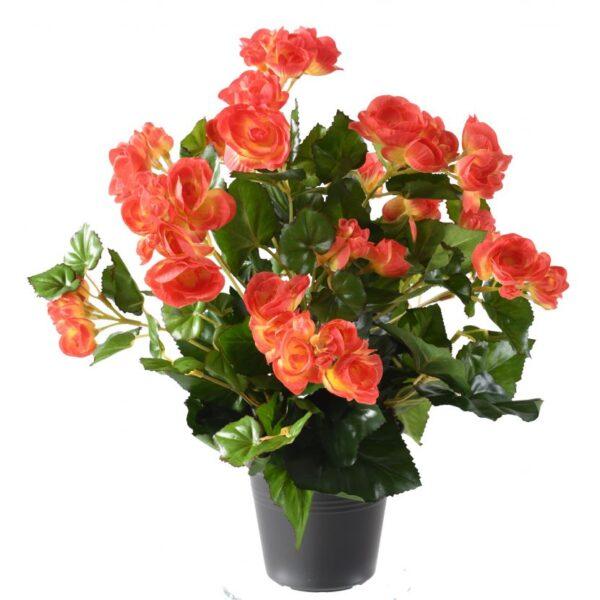 plante artificielle begonia corail 1 1