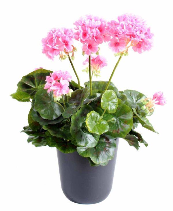 plante artificielle geranium rose 1 1