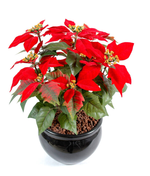 plante artificielle poinsetia rouge 1 1