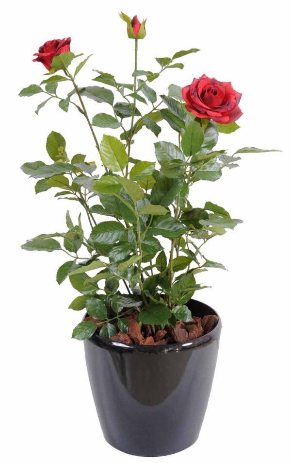 plante artificielle rosier royal rouge 3 1