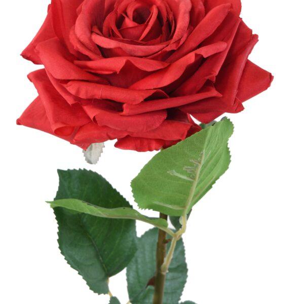 rose artificielle rouge 1 1