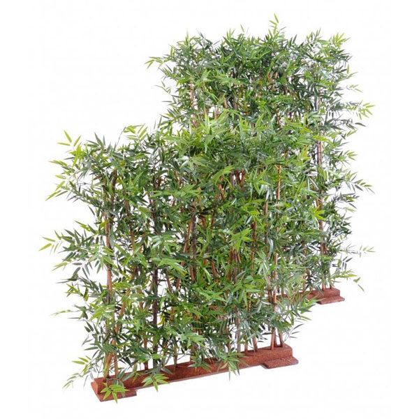 haie bambou artificiel uv resistant 160cm 1